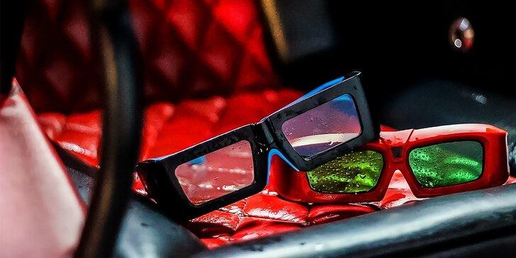 Neopakovateľná akcia! Vstup do vzrušujúceho 5D kina - nové filmy, obzvlášť nízka cena!