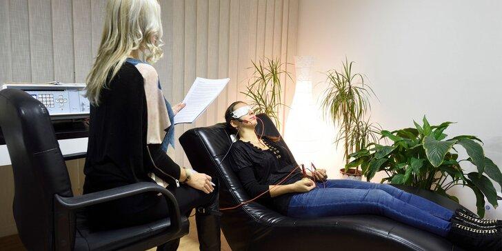 Diagnostika celkového zdravotného stavu prístrojom BICOM Optima s následnou terapiou