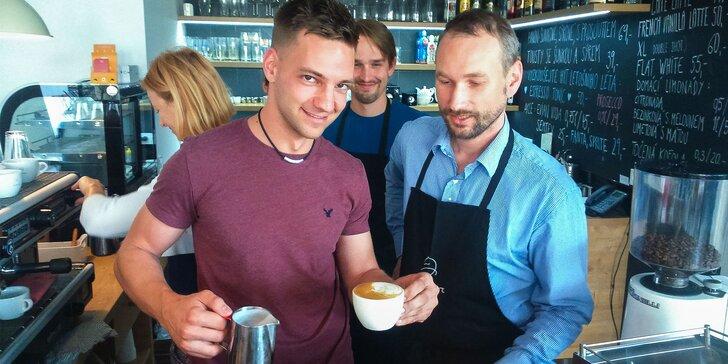 Baristický kurz domácej prípravy espressa pre všetkých milovníkov kávy v Bratislave, Prahe alebo Brne