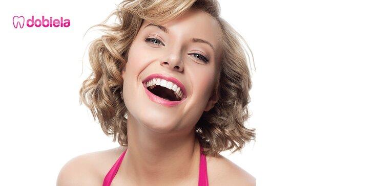 Kozmetické bielenie zubov PEARLSMILE®. 3. ošetrenie ZDARMA!