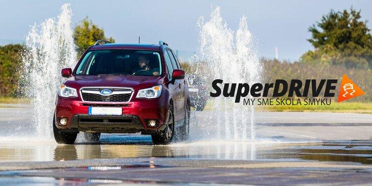 SuperDRIVE Škola Šmyku! Bezpečne za volantom na cestách aj pri parkovaní!