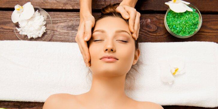 Unikátne ošetrenie pleti certifikovanou prírodnou kozmetikou spojené s jemnou masážou tváre, dekoltu a šije