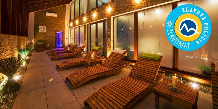 Jedinečný wellness pobyt v novom špičkovom hoteli Daro*** uprostred Štiavnických vrchov