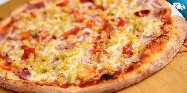 Pizza podľa vlastného výberu - aj na donášku!