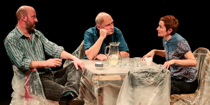 Divadelné predstavenia Paranoja a Extrakty a náhrady v divadle SkRAT