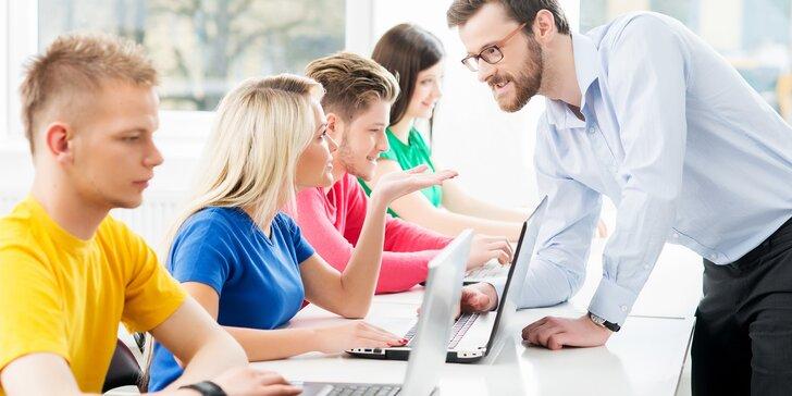 Akreditované kurzy programovania, Microsoft Office a marketingu
