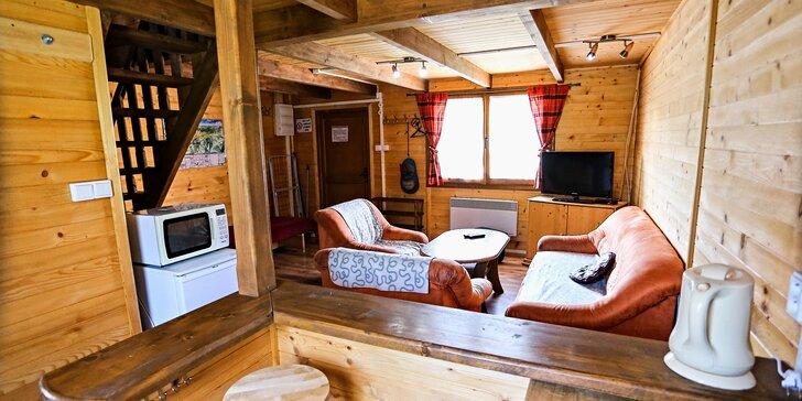 Relaxujte pod Tatrami! Kompletne zariadené drevenice Jenny pre 4 osoby