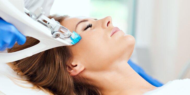 Mezoterapia prístrojom Vital Injector s aplikáciou liftingového vitamínového séra a kyseliny hyalurónovej