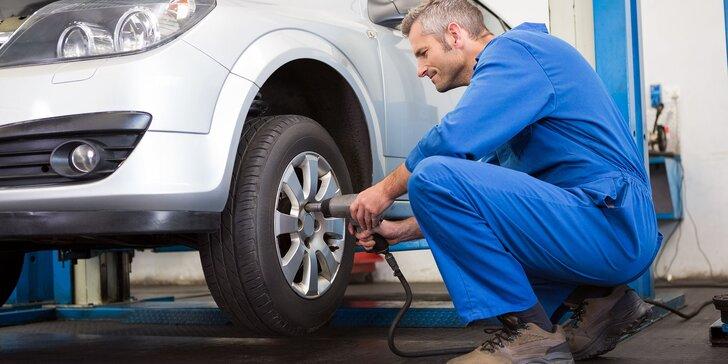 Výmena letných kolies alebo kompletné prezutie aj s vyvážením v pneuservise v Žiline