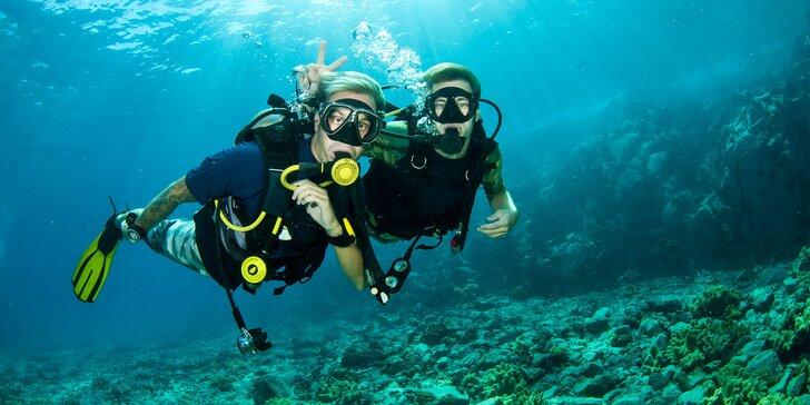 Kurzy pre potápačov - nechajte sa očariť podmorským svetom!