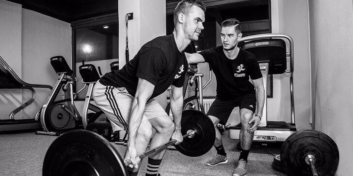 8 tréningov s trénerom v EfectFit, diagnostika pohybového aparátu s fyzioterapeutom
