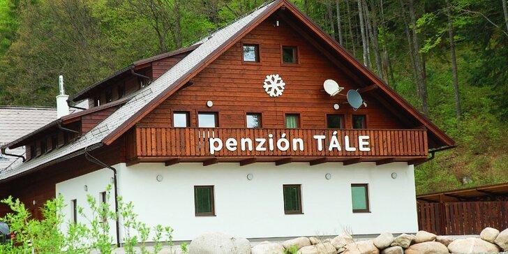 Dovolenka v obľúbenom penzióne Tále na južnej strane Chopku v Nízkych Tatrách na Táloch