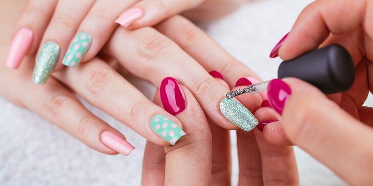 Nové nechty s profesionálnou manikúrou! Na výber až 6 druhov vrátane japonskej, relaxačnej a nových gelovych nechtov