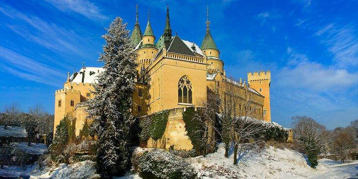 Zimný alebo jarný oddych pre dvoch v štýlovom Penzióne Benedikti aj so vstupom do kúpelov Bojnice