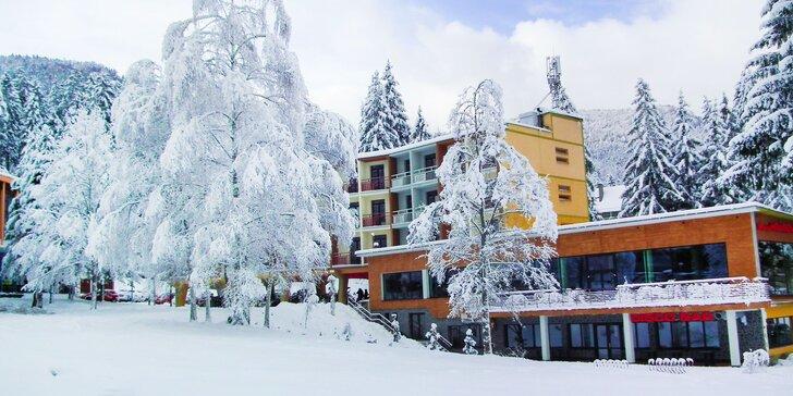 Pobyt priamo pri SKIPARK Malinô Brdo v hoteli Hrabovo ** s wellnessom