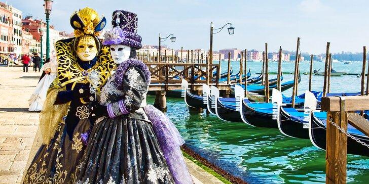 Navštívte jedinečný pestrofarebný benátsky karneval!