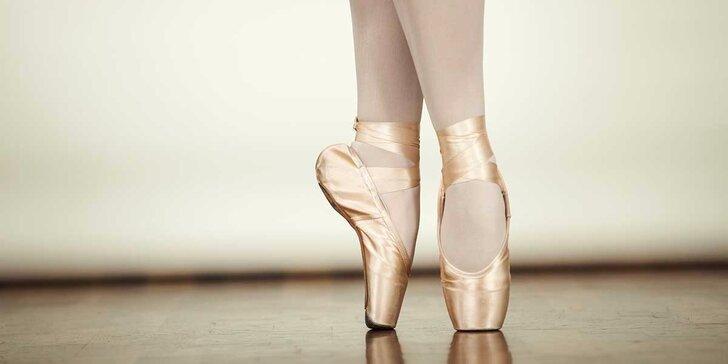 Kurz baletu pre všetkých začiatočníkov. Tip na darček!