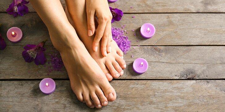 Relaxačná mokrá pedikúra s masážou aj v HAPPY HOURS