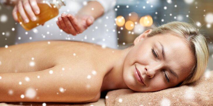 Kráľovská masáž alebo Zimný svet: uvoľňujúce masáže navrhnuté špeciálne pre toto ročné obdobie. Tip na darček!