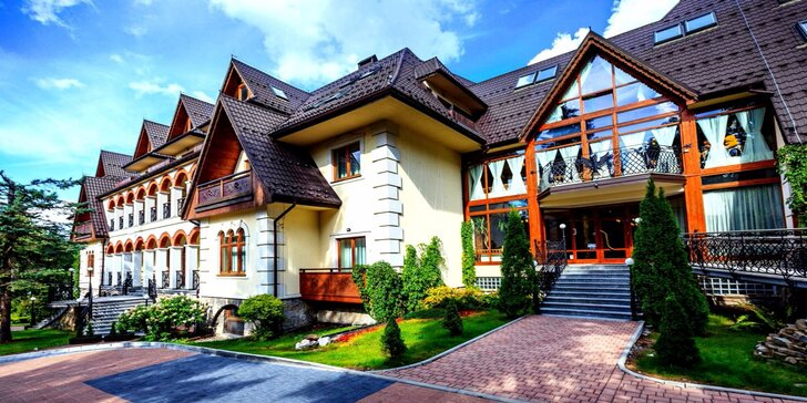 Prvotriedny oddych v hoteli Belvedere**** v Zakopanom