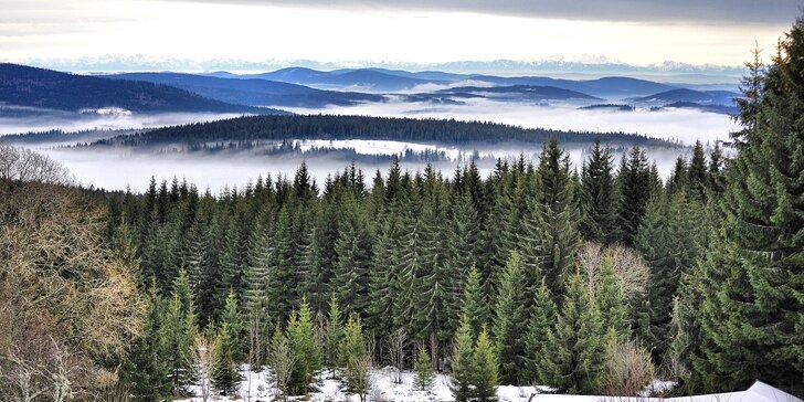 Penzion na Šumave s polpenziou pre 2: hurá na bežky, lyže i za jarným odpočinkom