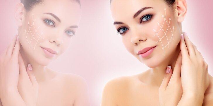 Exkluzívne liftingové a rozjasňujúce ošetrenie tváre, krku a dekoltu špičkovou francúzskou prírodnou kozmetikou GERnétic pre dámy 35+