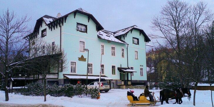 Štýlový historický Hotel Tatry*** v Tatranskej Lomnici + 1 dieťa do 12 rokov ubytovanie zdarma