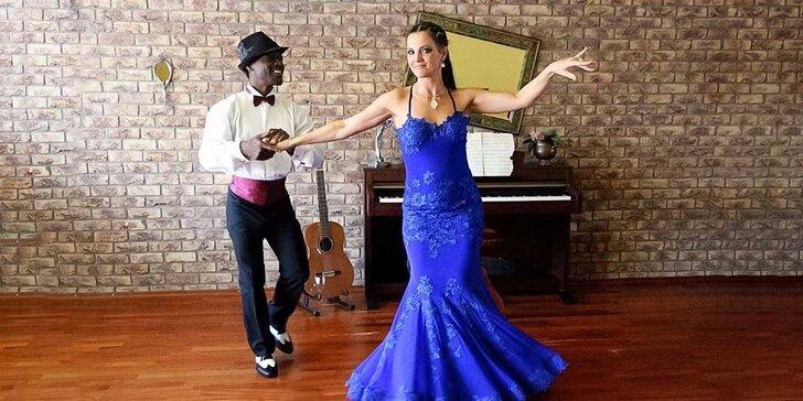 Tanečný kurz podľa vlastného výberu s profesionálnymi tanečníkmi