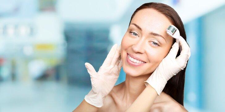 Hĺbkové čistenie pleti ultrazvukom s mikromasážou očného okolia kyselinou hyalurónovou alebo balíček krásy