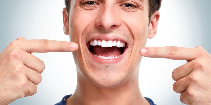 Dentálna hygiena pre deti aj dospelých či bielenie zubov systémom WHITE SMILE FLASH