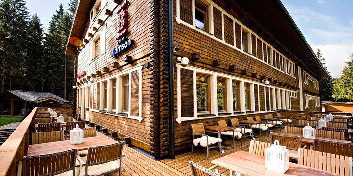 Jarný alebo jesenný turistický a relaxačný pobyt pod Chopkom v Nízkych Tatrách v legendárnej chate Björnson. TIP na darček!