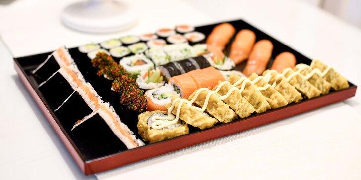 Sushi menu až pre 4 osoby v Asean fast food