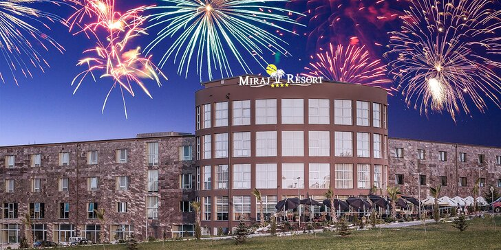 Silvestrovský wellness pobyt s hviezdnym obsadením počas galavečera v exkluzívnom novootvorenom Miraj Resort****