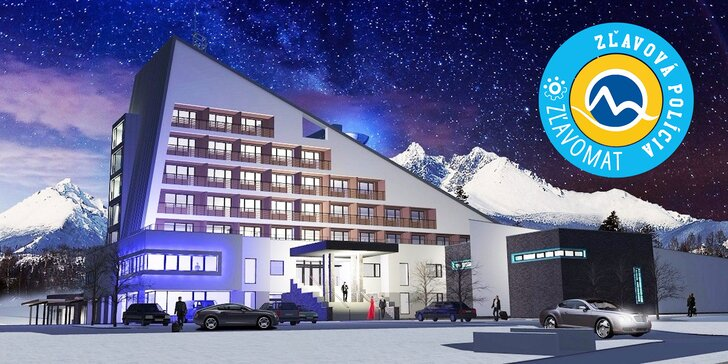 Exkluzívny pobyt v najmodernejšom wellness hoteli HORIZONT Resort**** vo Vysokých Tatrách s neobmedzeným wellness + 50 % zľavou do Aquacity Poprad