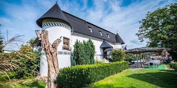 Romantický pobyt v renesančnom Kaštieli Bocian v srdci Slovenska