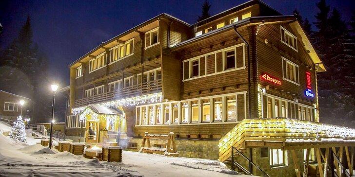Prvá tohtoročná lyžovačka pod Chopkom v Nízkych Tatrách v legendárnej chate Björnson! Pobyt pre dvoch aj s polpenziou a wellness!