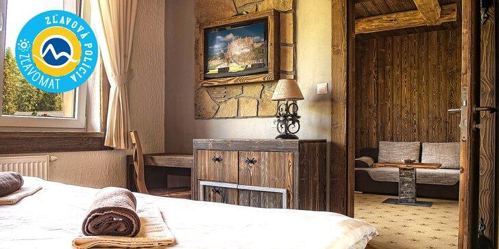Jarné, letné alebo jesenné pobyty s wellness v Hoteli Bachledka**** Strachan. Ideálny TIP na darček!