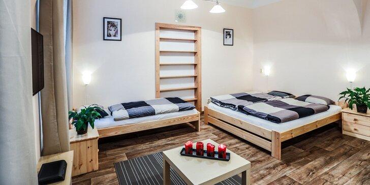 Ubytovanie v krásnych apartmánoch priamo v centre Prahy