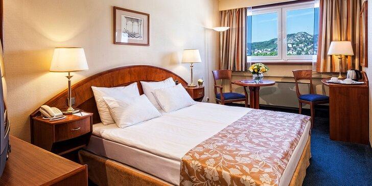 Romantika a relax v Danubius Hotel Flamenco**** v centre krásnej Budapešti