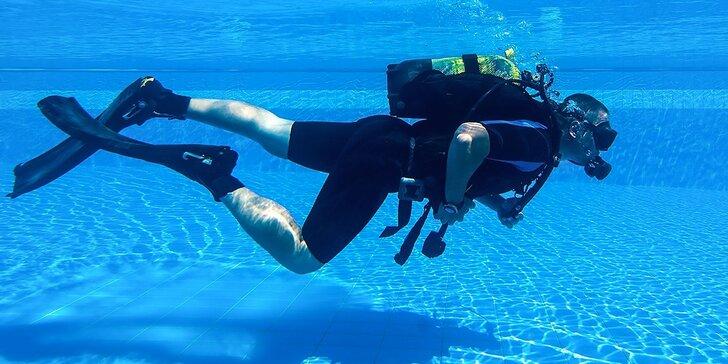 Discovery Diving - ponor na skúšku v bazéne