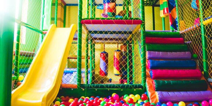 Detské indoorové ihrisko Wonderland! Hodinový alebo celodenný vstup!