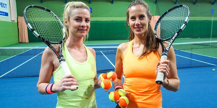 EasyTennis: 6-týždňový kurz tenisu pre začiatočníkov pod vedením Martiny Suchej a Kataríny Páleníkovej