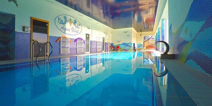 Wellness pobyt pri Bojniciach v Relax centre Aqua Vital s neobmezeným vstupom do bazénu, sauny a vírivky