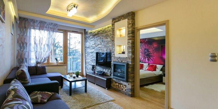 Luxusné apartmány v centre Zakopaného až pre 6 osôb!