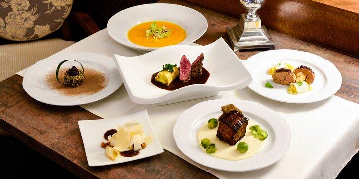 Luxusné 6-chodové degustačné menu pre 2 od executive chefa Ladislava Botoša v Pressburg restaurant na Dunaji