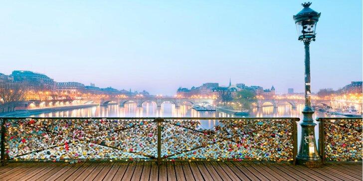 Zájazd do Paríža na Valentína aj s ubytovaním, raňajkami a šampanským pre pár