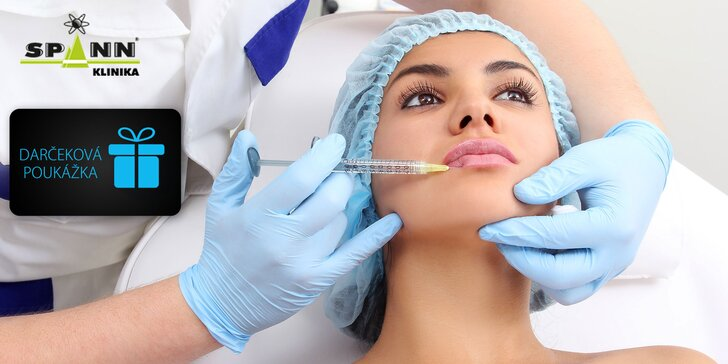 Darčeková poukážka na výkony lekárskej kozmetiky na Súkromnej klinike Spinn