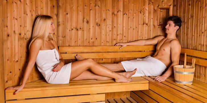 2-hodinový privátny vstup do sauny pre 2 až 4 osoby s fľašou sektu alebo pivom