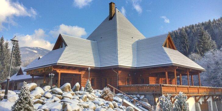 Rodinná zimná dovolenka s exkluzívnym wellness na južnej strane Chopku v Nízkych Tatrách na Táloch