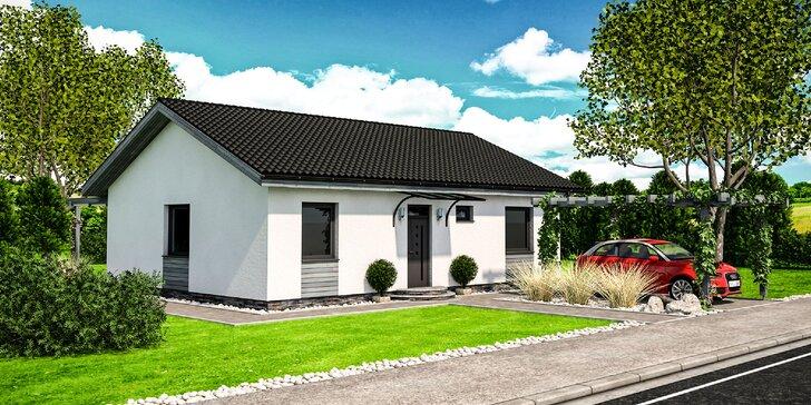 Vytvorenie projektu rodinného domu na mieru - bezkonkurenčná cena, len na Zľavomate!